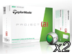 TaylorMade 2014 Project A Golfbollar x2