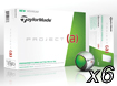 TaylorMade 2014 Project A Golfbollar x6