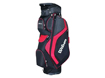 Wilson 2014 Prostaff Cart Bag Sort Rød