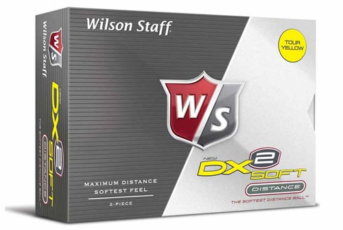 Wilson Staff 2012 DX2 Soft Gelb