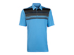 Ashworth SS2013 Performance Front Panel Engineer Polo Azure M