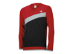 adidas Aw2013 Angular Heathered Blocked Sweater Red M