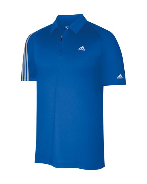 Adidas Formotion 3 Stripes Polo Blue L