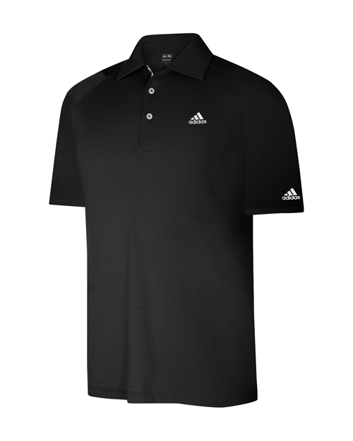 Adidas Formotion Textured Polo Black M