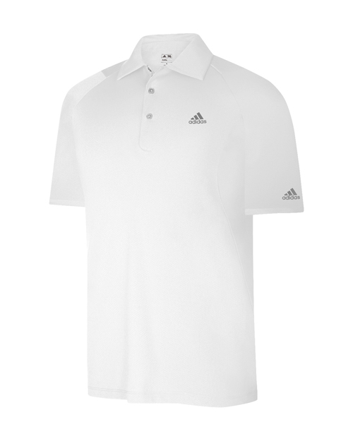 Adidas Formotion Textured Polo White L