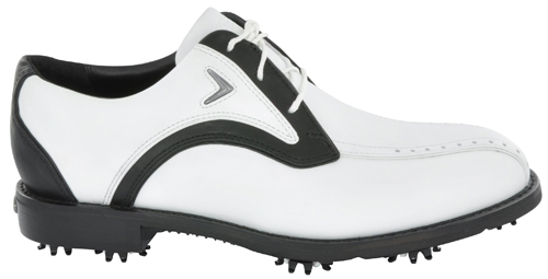 Callaway Chev Blucher Golf Shoe 2011 White Black UK 9.5