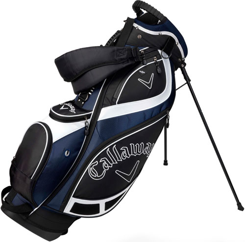 2db50323ef53 Callaway Euro G2 Stand Bag Black Blue - Golf Accessories - Golfbidder