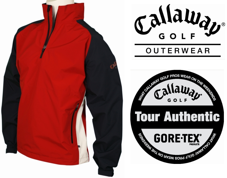 CALLAWAY PacLite Shell 1/2 Zip Top X-Large