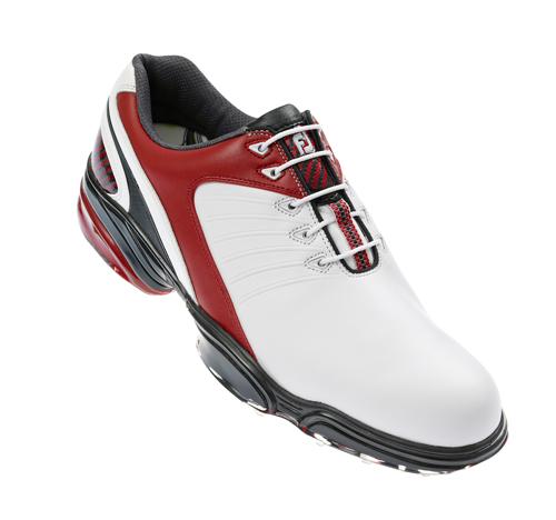 FootJoy Sport Golf Shoes 2011 White Red UK 8