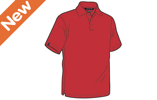 Glenmuir Howth Polo Red X-Large