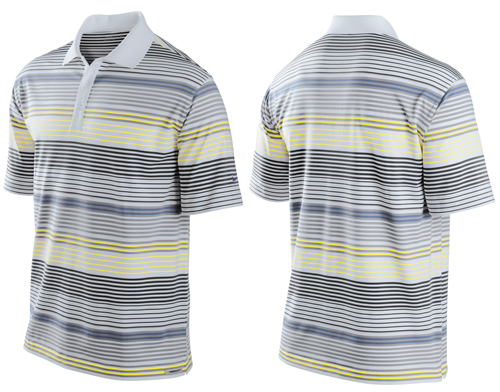 Nike UV Bold Stripe Polo 2011 Grey L