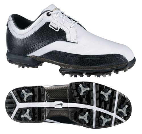 Nike Tour Premium Golf Shoe 2011 Black White Size UK 9