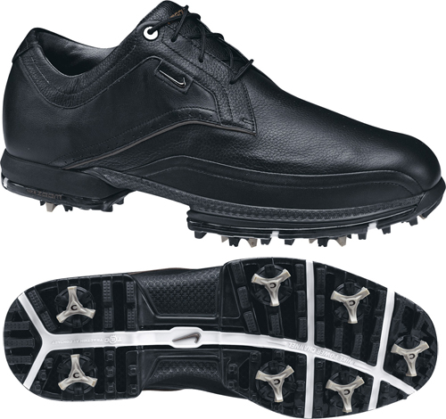 Nike Tour Premium Golf Shoe 2011 Black Size UK 9.5