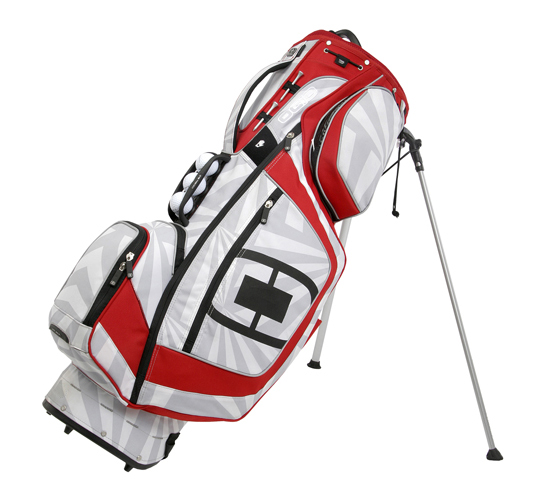 Ogio Ozone Stand Bag White Red Golf Accessories Golfbidder