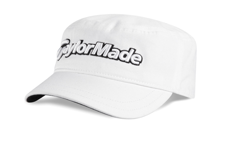 Taylormade Military Cap 2011 White - Golf Clothing - Golfbidder cbf33785599