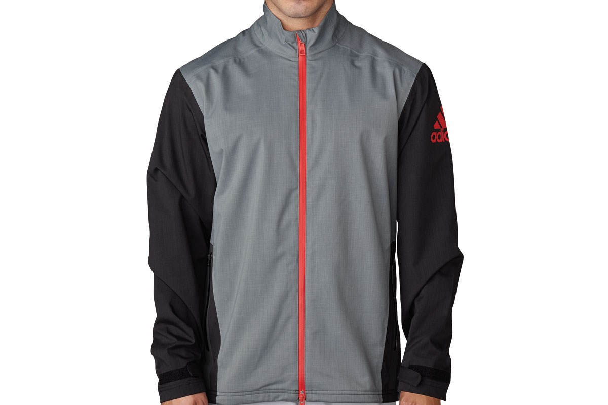 08fd421f052e Adidas Climaproof Heathered Rain Jacket Grey Black (m) - Golf Accessories -  Golfbidder