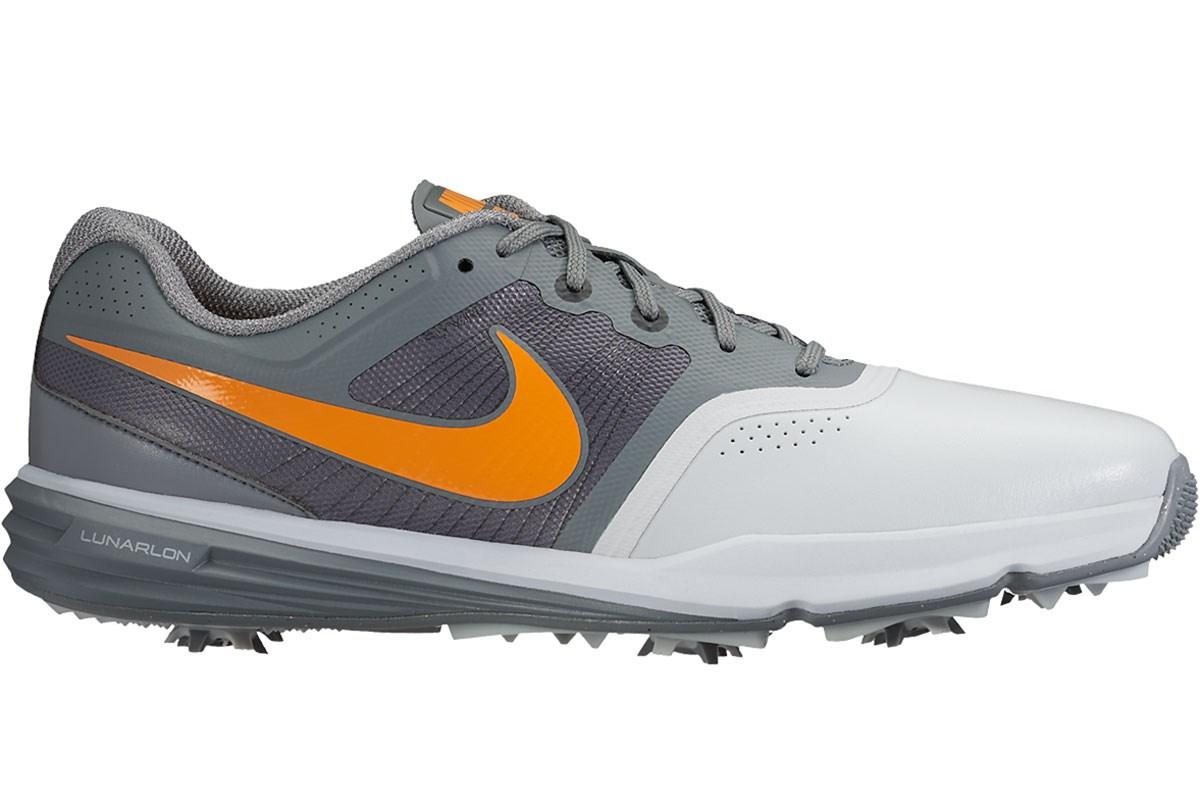 d1f78dfe7045 Nike (uk 11) Lunar Command Golf Shoes Grey Orange - Golf Accessories -  Golfbidder