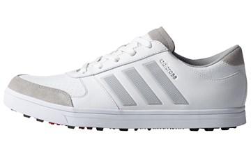 Adidas (uk 12) 2017 Adicross Gripmore Golf Shoes White - Golf ...