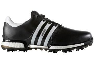Adidas Uk 8 Wide Tour360 Boost 2 0 Golf Shoes Black White Golf Accessories Golfbidder