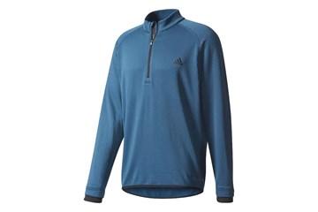 939698b156 Adidas Climaheat Gridded 1/4 Zip Sweater Petrol (xl) - Golf ...