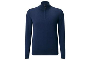 Callaway 2017 Merino 14 Zip Sweater Peacoat M Golf Accessories