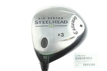 Golfschläger & -ausrüstungsartikel Callaway Big Bertha Steelhead III 3 Wood System III Firm Graphite Shaft Golfschläger