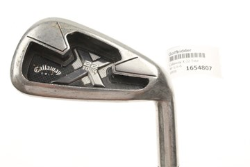 Callaway X 22 Tour Irons With Regular Steel Project X Rifle Flighted