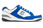 FootJoy (UK 10.5) FJ Originals Golf Shoes White Blue - SALE