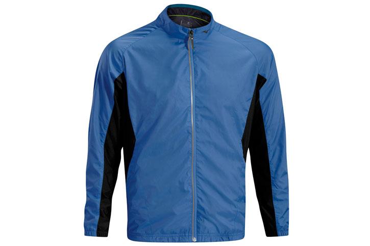 Mizuno Windproof Jacket Blue Black (XL) - SALE