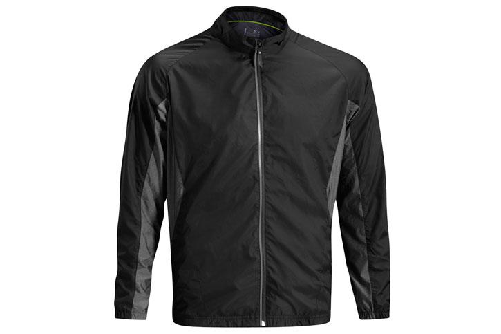 Mizuno Windproof Jacket Black Grey (L) - SALE