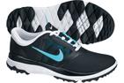 Nike 2014 FI Impact Golf Shoes Black Polarized Blue (UK 4.5) - SALE - SALE