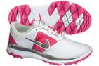 Nike FI Impact Golf Shoes White Vivid Pink (UK 4)