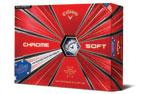 Callaway Chrome Soft Truvis Golf Balls Stars and Stripes 3PK (36 Golf Balls)