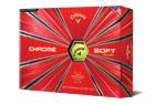 Callaway 2018 Chrome Soft Golf Balls Yellow (12 Golf Balls)