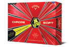 Callaway 2019 Chrome Soft Truvis Golf Balls Yellow Black 3PK (36 Golf Balls)