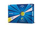 Callaway 2020 ERC Soft Triple Track Golf Balls Yellow