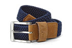 FootJoy Braided Belt Navy