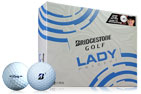 Bridgestone 2018 Lady Precept Golf Balls 3PK (36 Golf Balls)