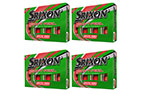 Srixon Soft Feel Brite Red Loyalty Golf Balls