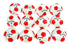 Callaway Chrome Soft Truvis Pearl Grade Lake Balls Red White 3PK (36 Golf Balls)