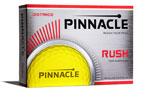 Pinnacle 2017 Rush Golf Balls Yellow 3PK (36 Golf Balls)
