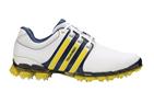 adidas Tour 360 ATV M1 Golf Shoes White Yellow UK 11 - SALE