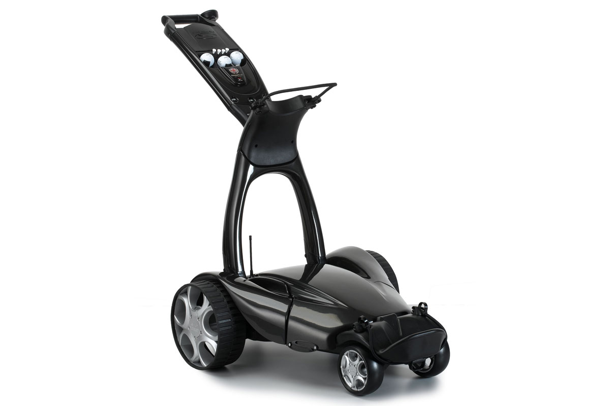 Stewart Golf X7 Remote Electric Trolley Black - Reconditioned