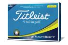 Titleist 2018 Tour Soft Golf Balls Yellow 3PK (36 Golf Balls)