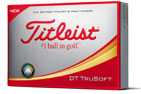 Titleist 2018 DT Trusoft Golf Balls 3PK (36 Golf Balls)