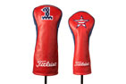 Titleist Limited Edition Leather Driver and Fairway Headcover US Open