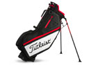 Titleist 2018 Players 4 Stand Bag Black White Red