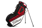 Titleist 2018 Players 14 Stand Bag Black White Red