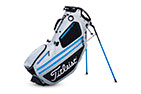 Titleist 2019 Hybrid 14 Stand Bag Silver Black Blue