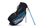 Titleist 2019 Hybrid 5 Stand Bag Black Charcoal Blue